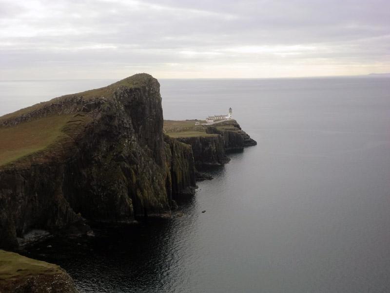 Gefährliches Foto: Der Point-Neist-Leuchtturm