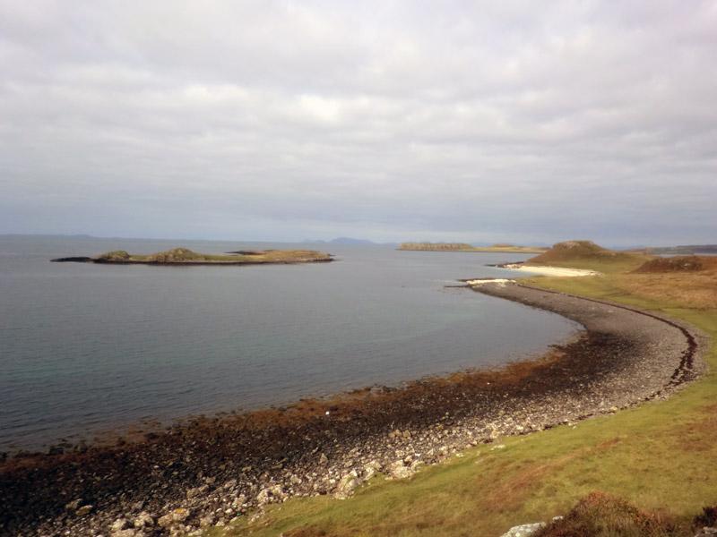 Reisebericht Skye: Fußweg zu Coral Beaches