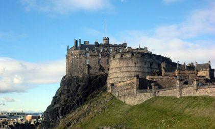 Anreisser Edinburgh Castle