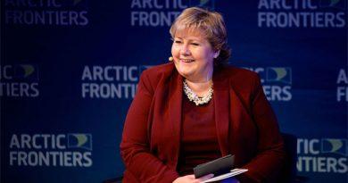 Erna Solberg auf der Arctic Frontiers