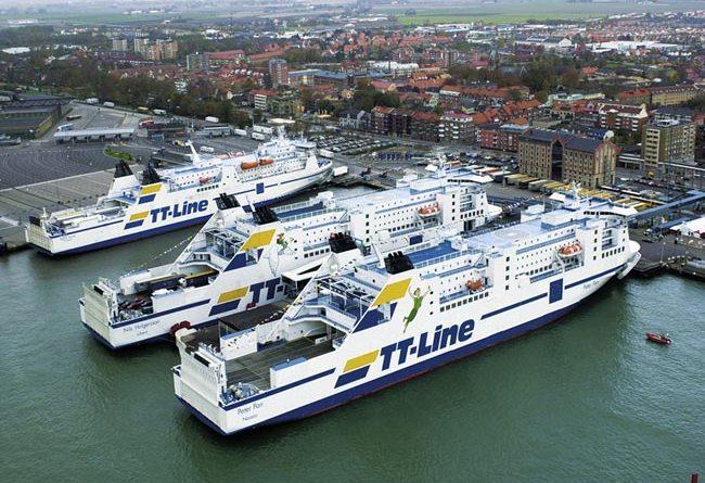 Trelleborg Hafen