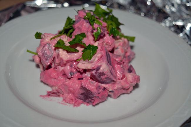 Rosolje/Kartoffelsalat