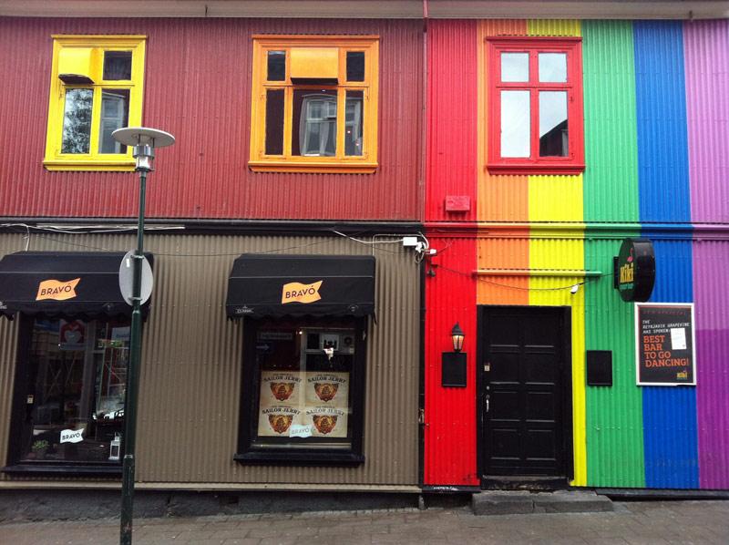 Buntes Reykjavik