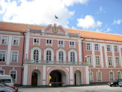 Riigikogu, Sitz des Parlaments in Estland