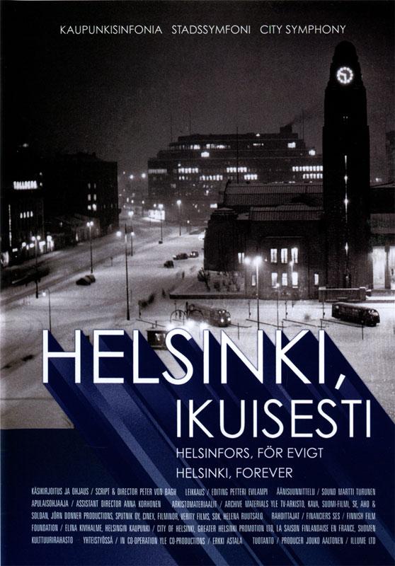 Filmplakat Helsinki, ikuisesti
