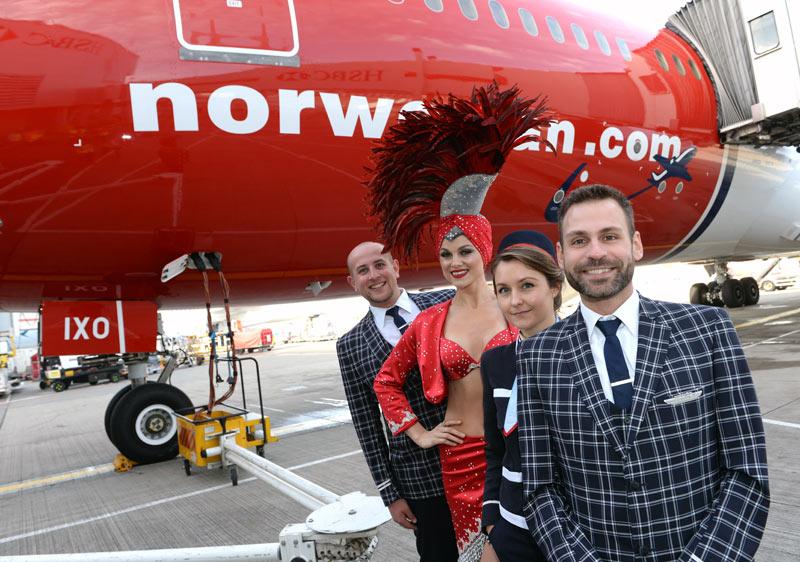 Norwegian, jede Menge glückliche Gesichter