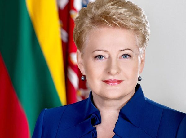 Präsidentin Litauens Dalia Grybauskaite