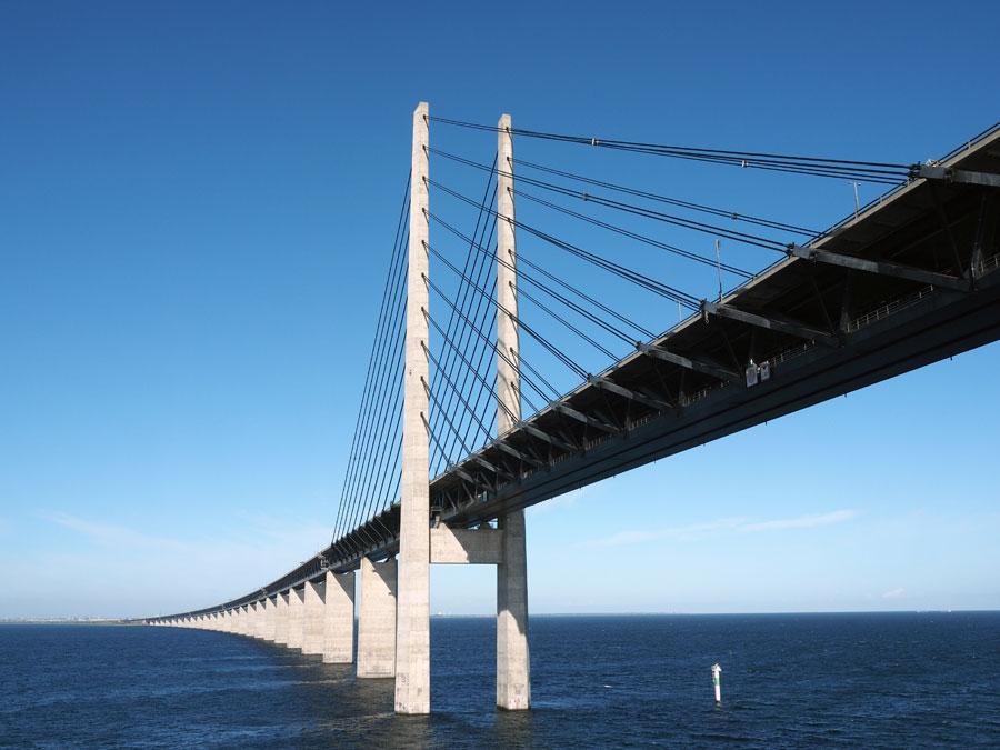 Öresundbrücke Richtung Kopenhagen