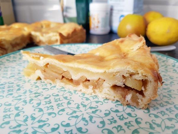 Irischer Apfelkuchen – Ein Rezept ohne  Schnickschnack