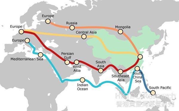 Eine Zugverbindung zwischen China und Lettland