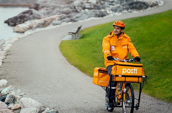 Finnische Postboten sammeln Daten