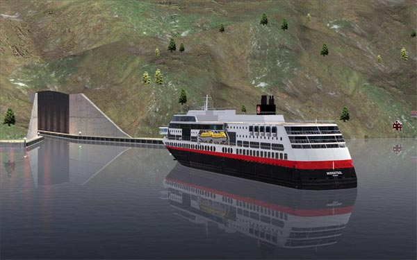 Schiffstunnel in Norwegen
