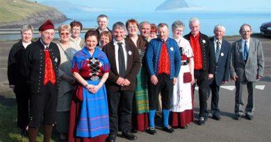 Einwohner Färöer Inseln