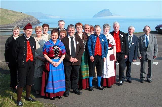 Volkstanzgruppe Vágur (Suðuroy), Färöer Inseln