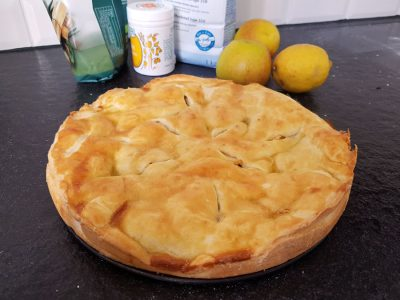 Apfelkuchen fertig