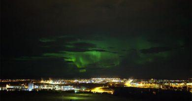 Nordlichter Reykjavik