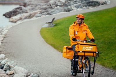 Finnischer Postbote