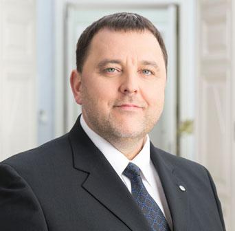 Finanzminister Sven Sester