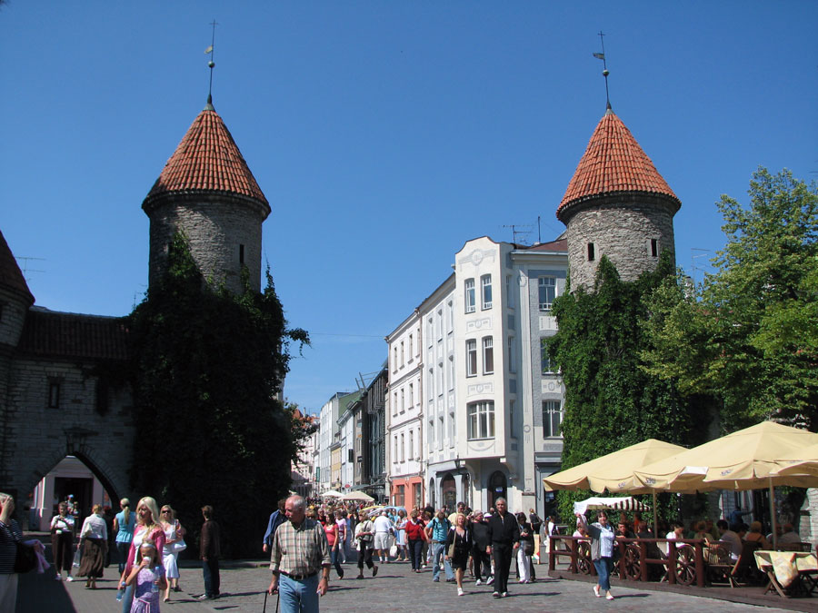 Tor zur Altstadt Tallinn