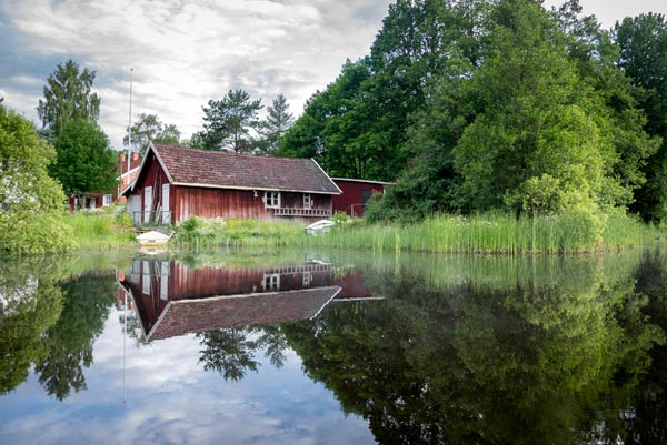 Was hat es mit den roten Häusern in Schweden auf sich?