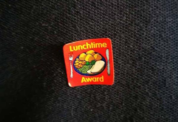 Englands Schulsystem Lunchtime Award