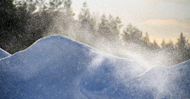 Schneewirbel, Finnland Arktischer Rat