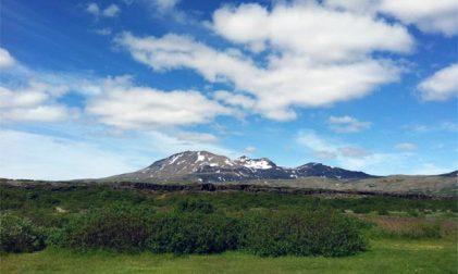 Erster Zug für Island