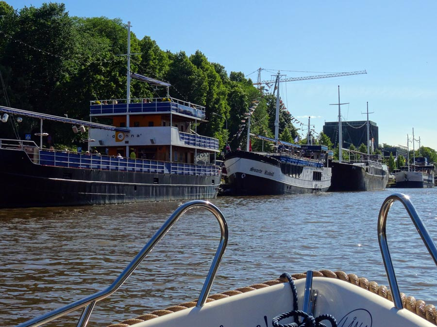 Boote in Turku
