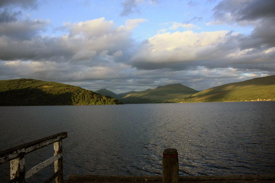 Radtour  Loch Fyne, Inveraray