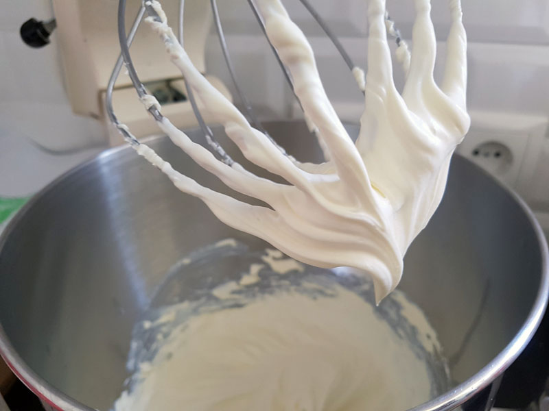 Creme Fraiche in der Kitchenaid