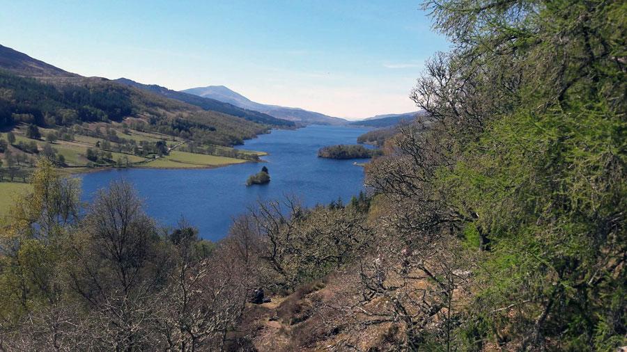 Fahrradtour am Loch Riddon