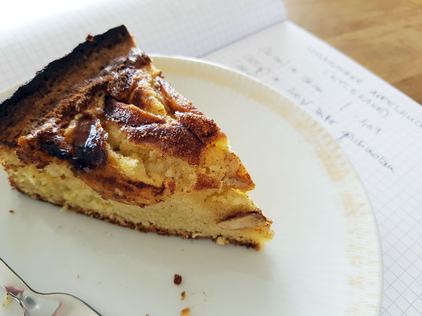 Norwegischer Apfelkuchen: Eplekake
