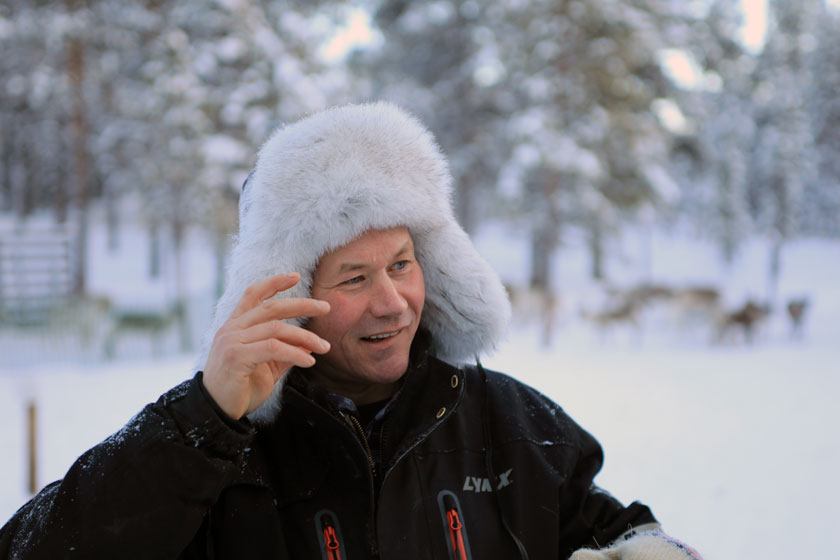Osmo Seurujärvi, Rentierzüchter aus Inari