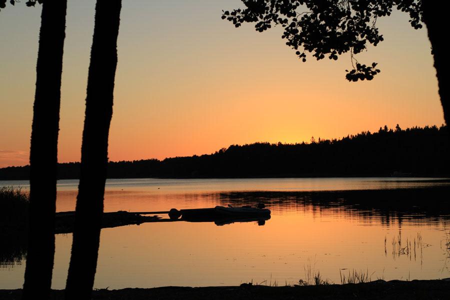 Sonnenuntergang in Rauma