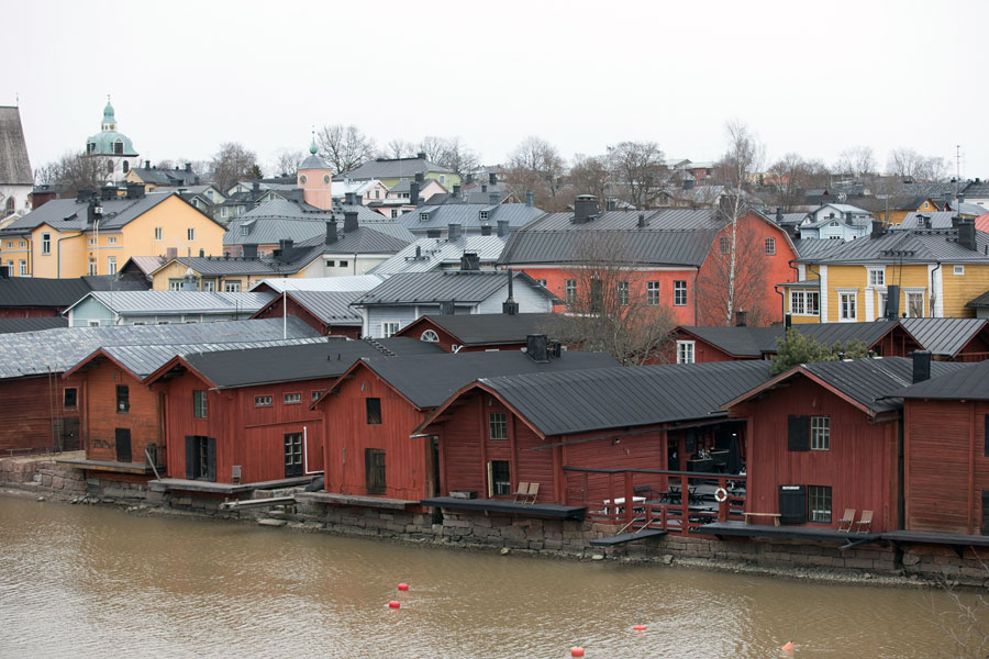 Porvoo Speicherstadt