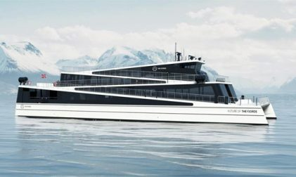 Elektrisches Schiff Future of the Fjords