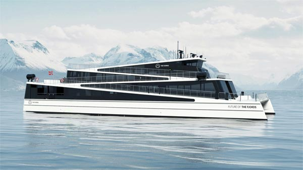 Elektrisches Schiff Future of the Fjords