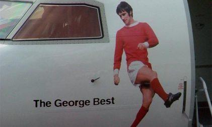 Belfast Flughafen Flybe George Best