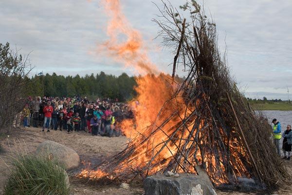 Juhannus Mittsommer in Finnland
