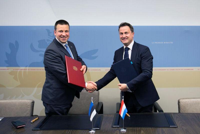 Besiegelt, Estland eröffnet Daten-Botschaft in Luxemburg