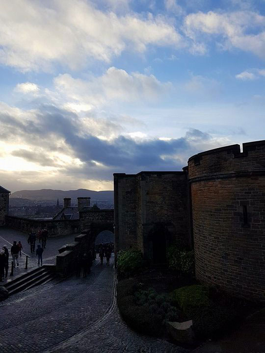 Auf der Edinburgh, Old Town