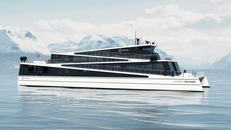 Future of The Fjords, Elektroschiff