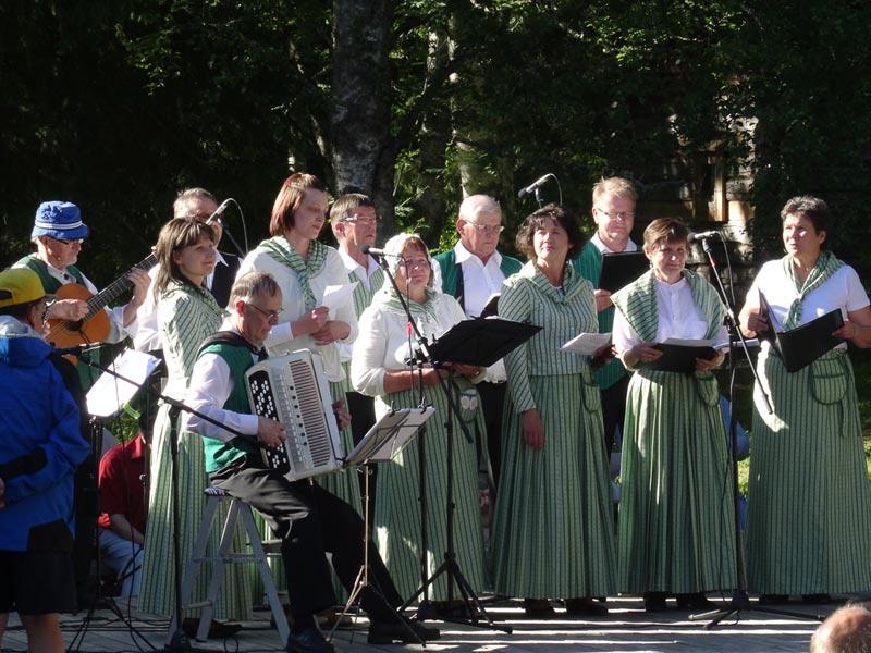 Gesang im Chor