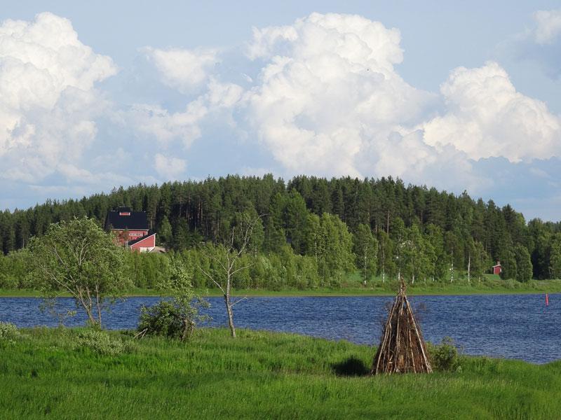 Mittsommer Finnalnd Oulu