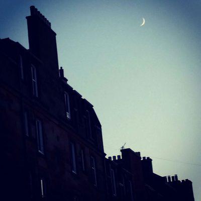 Mondnacht in Edinburgh