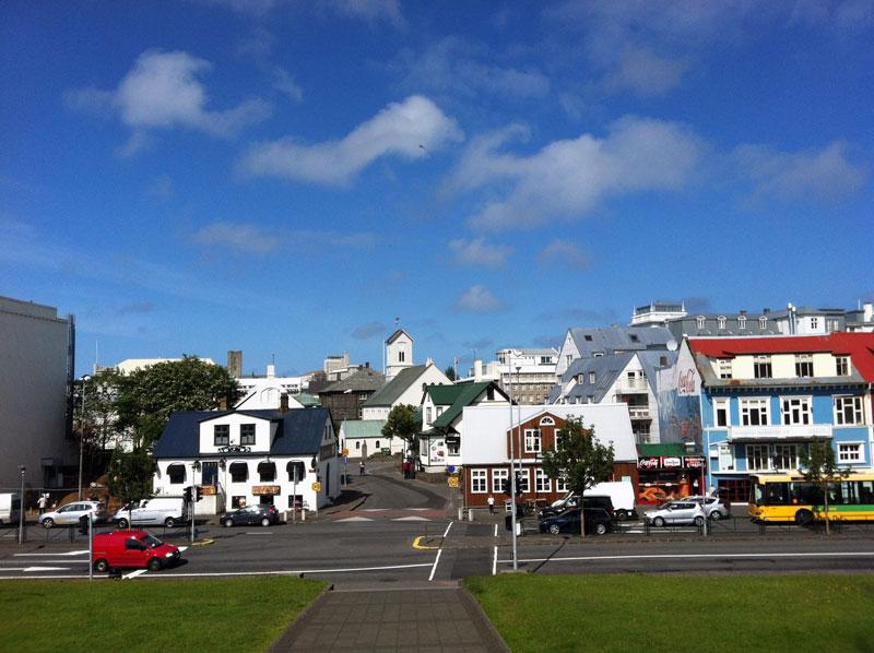 Zurück in Reykjavik