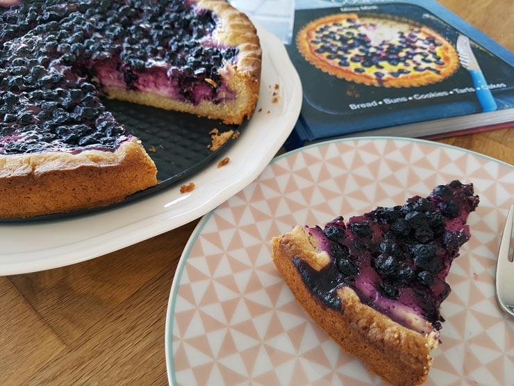 Fertiger Blaubeerkuchen nach finnischem Rezept