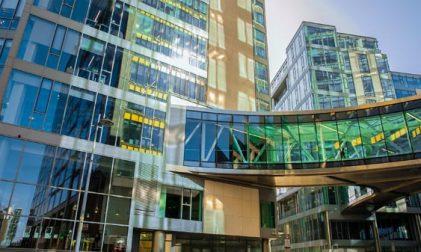 Europäische Google-Zentrale in Dublin, Irland