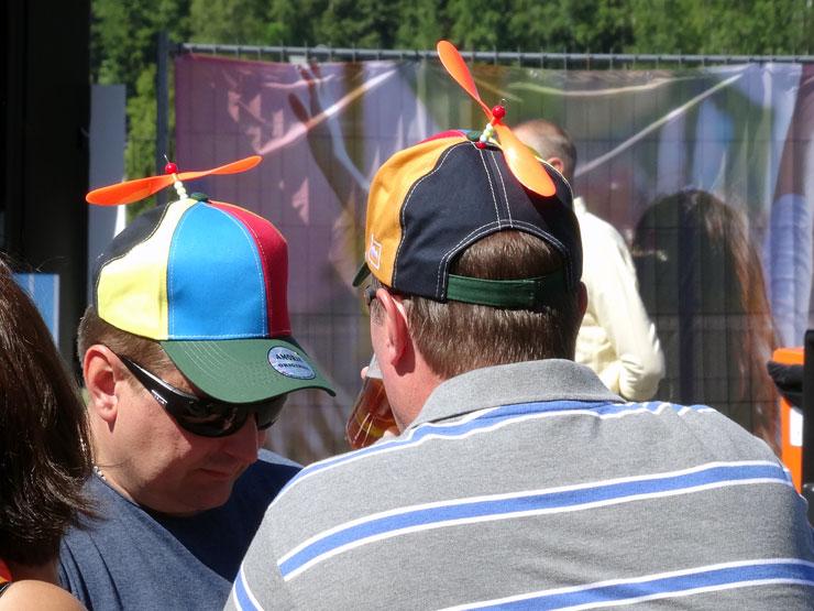 Ohne Propellerhut ist kein Festival gut