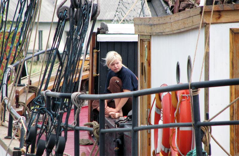 Redaktion auf großer Seefahrt